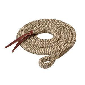 Weaver EcoLuxe Bamboo Lead 12.5' - Charcoal/Tan