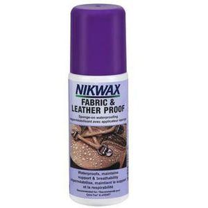 Nikwax Fabric & Leather Proof with Sponge Applicator - 4.2oz