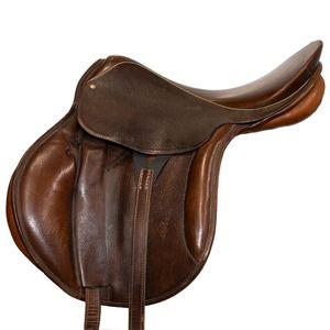 "Used Stubben Diana A/P Saddle 17.5"""