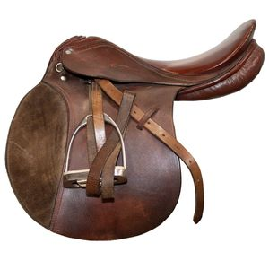 Used Turquis A/P Saddle - Brown 18.5""