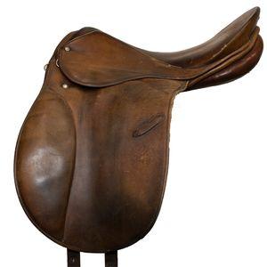 "Used Joh's Stubben Krefeld A/P Saddle 17.5"""