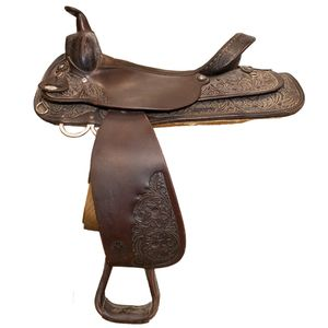 Used Circle Y Park & Trail Western Saddle - 17""