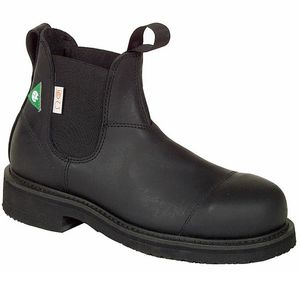 """Canada West Men's 34329 CSA 6"""" Loggertan Boots - Black"""