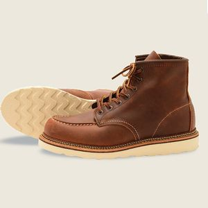 """Red Wing Men's 6"""" Classic Moc Boot - Copper"""