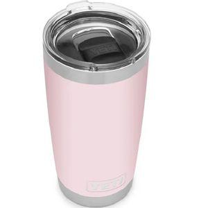 Yeti Rambler 20oz Tumbler Ice Pink
