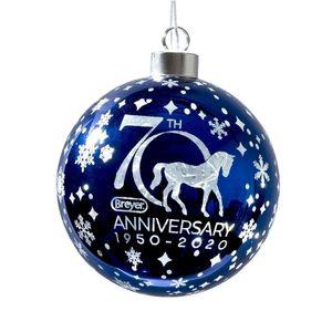Breyer 70th Anniversary Glass Ball Ornament