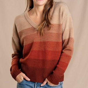 Toad & Co. Deerweed V-neck Sweater