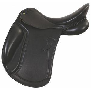 """HDR Dortmund Dressage Saddle - Black 17.5"""" M"""