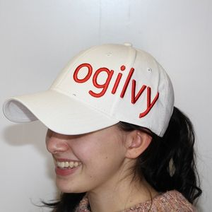 Ogilvy Equestrian Hat- White/Red