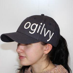 Ogilvy Hat - Navy/white