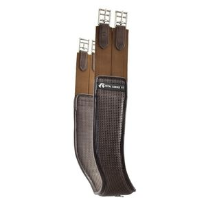 Total Saddle Fit Jump Shoulder Relief Girth Synthetic - Brown