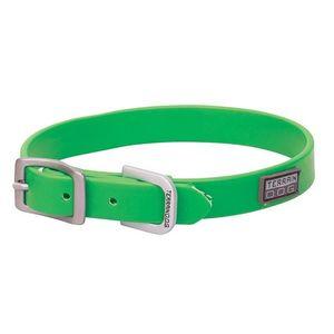 "Weaver Lime Green Brahma 3/4"" Dog Collar (13""-19"")"