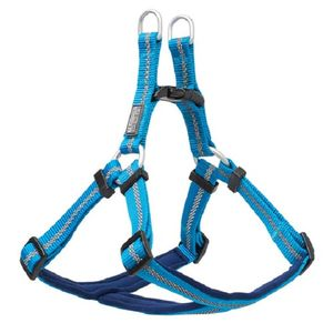 "Weaver Nylon Padded Blue Reflective 3/4"" Dog Harness (13""-20"")"
