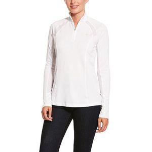 Ariat Women's Sunstopper 2.0 1/4 Zip - White