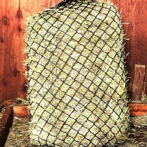 """Handy Hay Nets Large Bag 0.5"""" Holes - Hardware Included"""
