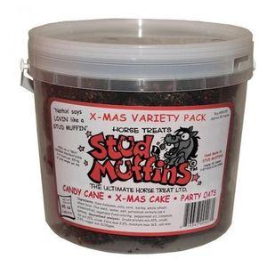 Stud Muffins 45oz Bucket X-mas