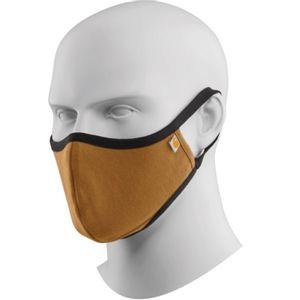Carhartt Men's Cotton Blend Ear Loop Face Mask  - Brown