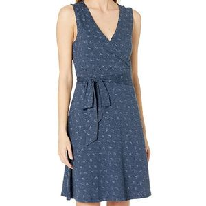 Toad & Co Women's Cue Sleeveless Dress - Navy Geo