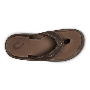 Olukai Men's 'Ohana Beach Sandal - Dark Java/Ray