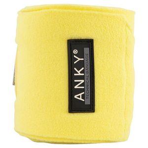 Anky Fleece Polos - Lime Light