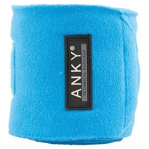 Anky Fleece Polos - Brilliant Blue