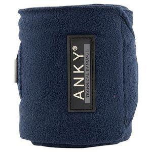 Anky Fleece Polos - Dark Navy