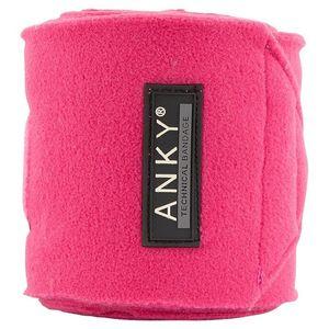 Anky Fleece Polos - Very Berry