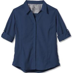 Royal Robbins Women's 3/4 Sleeve Deep Blue