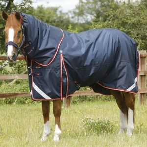 Premier Equine Buster 100 with Neck Cover Rug- Navy