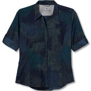 Royal Robbins Women's Expedition Print 3/4 Sleeve Eclipse