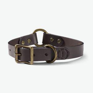 Filson Bridle Leather Dog Collar - Brown