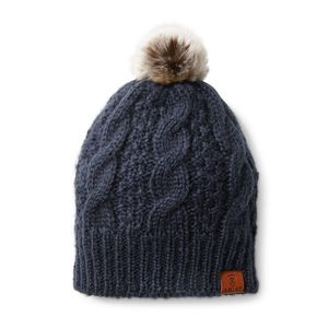 Ariat Cable Beanie- Navy