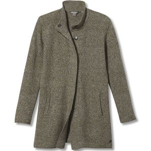 Royal Robbins Women's Frost Snap Cardigan Pewter Heather