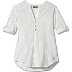 Royal Robbins Women's Oasis Tunic II 3/4 Sleeve White