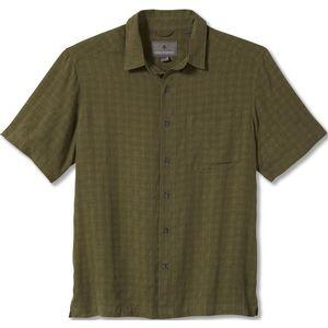 Royal Robbins Men's San Juan Dry Short Sleeve Shirt Olivine