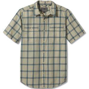 Royal Robbins Men's Point Lobos Short Sleeve Shirt Linen