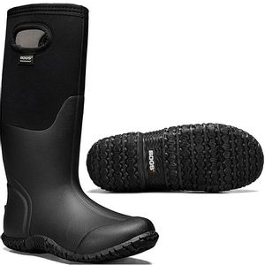 Bogs Women's Mesa Solid Insulated Rain Boots Black
