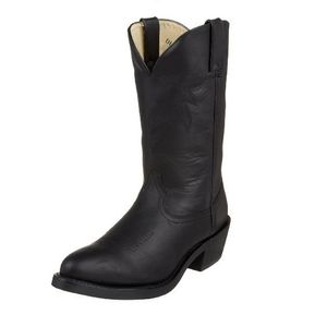 "Durango Men's Oiled Leather 11"" Western Boot -  Black"