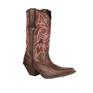 "Durango Women's 12"" Western Boots - Crackle Brown"