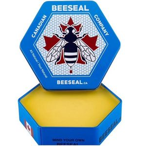 Canadian Beeseal Natural Wax Leather and Wood Conditioner - 75g
