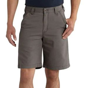 "Carhartt Men's Rugged Flex Rigby 10"" Shorts Gravel"