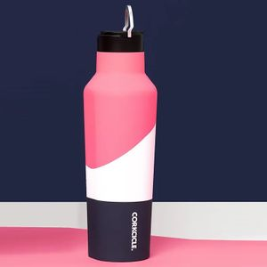 Corkcicle Sport Canteen 20oz - Electric Pink