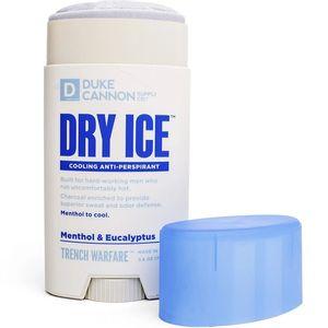 Duke Cannon Trench Warfare Dry Ice Cooling Antiperspirant & Deoderant - Menthol & Eucalyptus