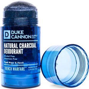 Duke Cannon Trench Warfare Natural Charcoal Deodorant - Freshwater & Neroli