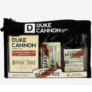 Duke Cannon Big Bourbon Beard Kit