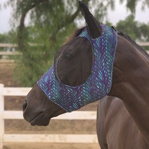 Professionals Choice Comfort fit Fly Mask- Dragon