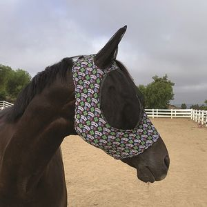 Professionals Choice Comfort fit Fly Mask- Poker