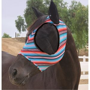 Professionals Choice Comfort fit Fly Mask- Santiago