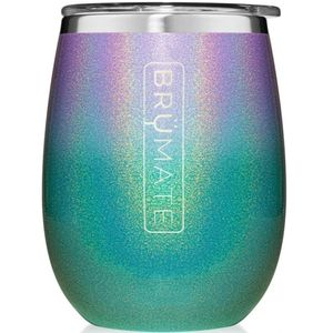 Brumate Uncork'd XL 14oz Wine Tumbler - Glitter Mermaid