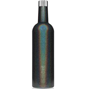 Brumate Winesulator 25oz Wine Canteen - Glitter Charcoal